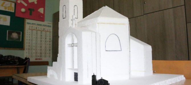 Izrada makete crkve Sv Alojzije Gonzage u Popovači