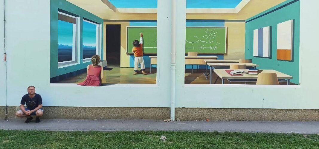 Novi crteži i mural ukrašavaju našu školu
