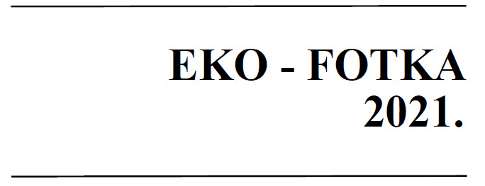 I naši učenici uspješno sudjelovali na natječaju Eko – fotka 2021.